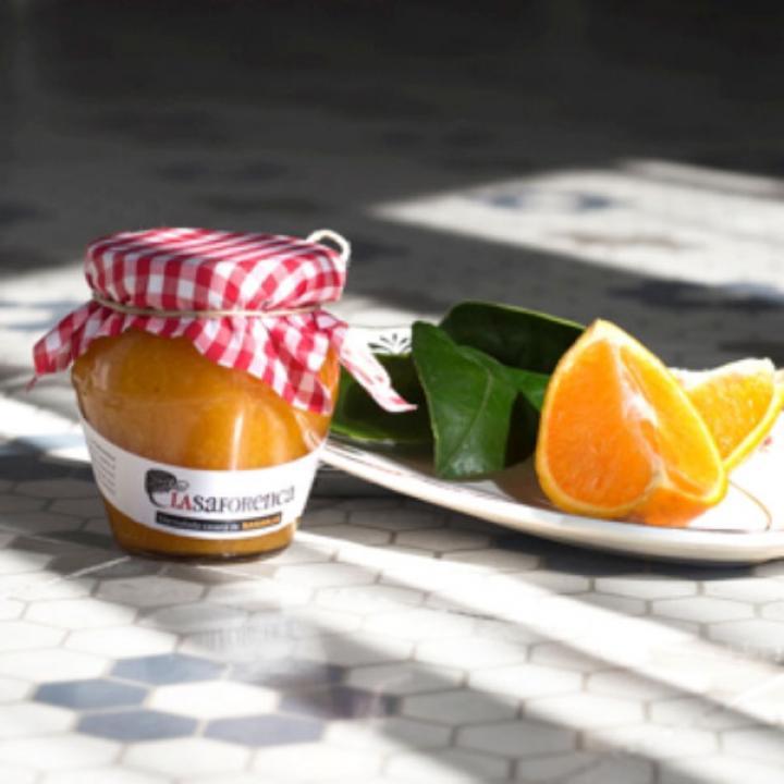 Mermelada casera de mandarina