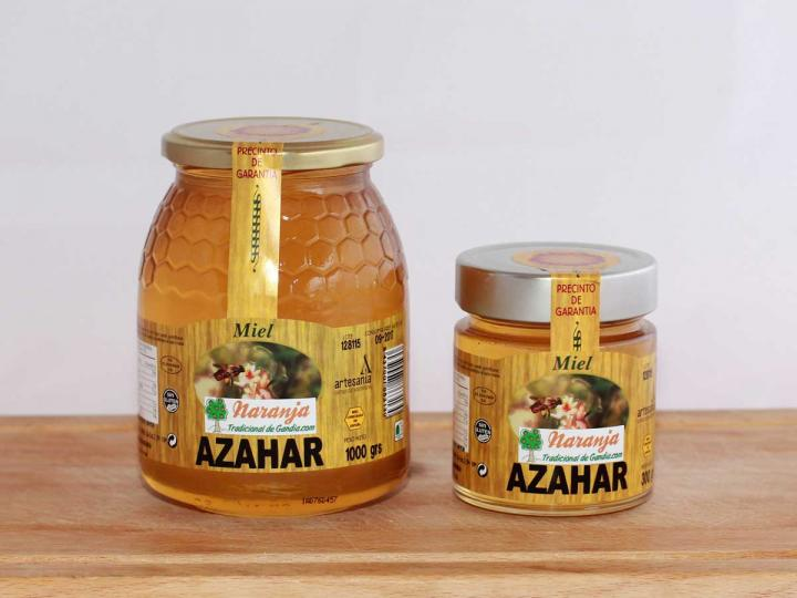 Oferta miel de azahar de la comunidad valenciana
