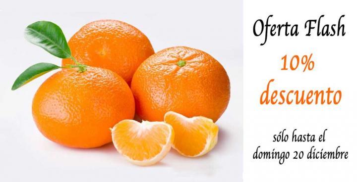 Oferta especial en mandarina