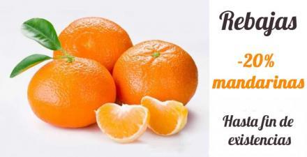 Rebajas 20% descuento en mandarina clemenvilla
