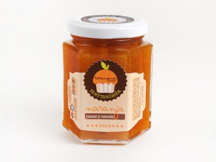 Comprar mermelada de naranjas, pasas y canela