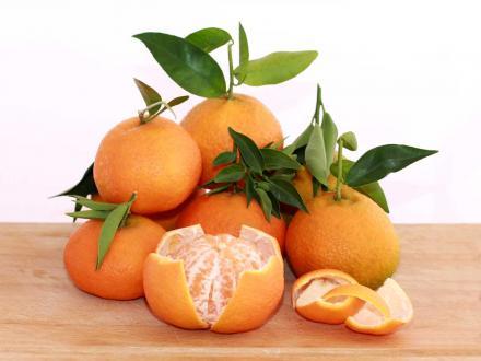 Mandarina clementina variedad Marisol. Se pela muy fácil