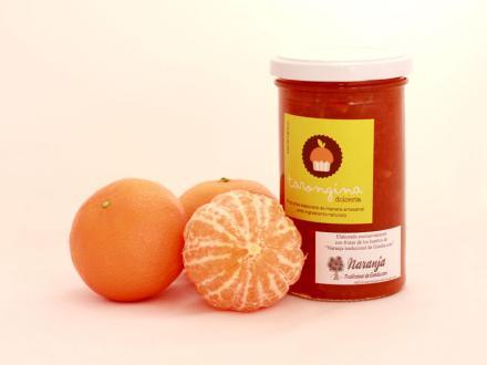 Confitura extra de mandarina. 340 g