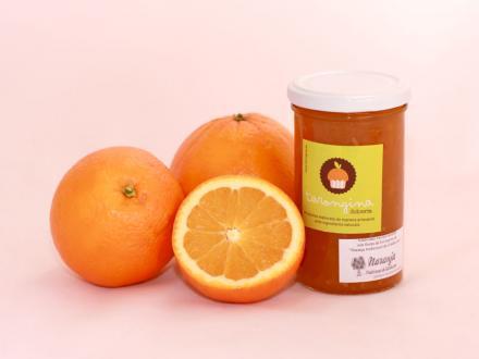 Mermelada artesana de naranja.