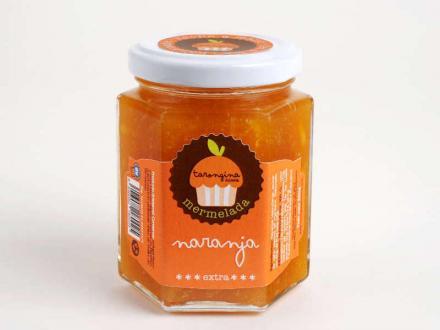 Mermelada artesana de naranja natural