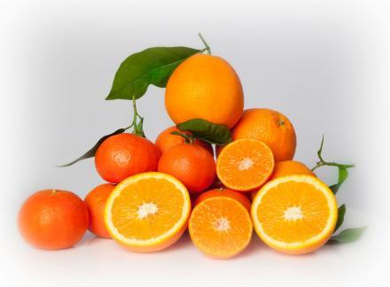 Mixta naranja y mandarina